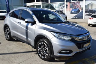 2019 Honda HR-V MY20 VTi-LX Billet Silver 1 Speed Constant Variable Hatchback.