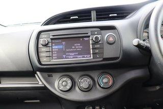 2019 Toyota Yaris NCP130R Ascent Glacier White 5 Speed Manual Hatchback