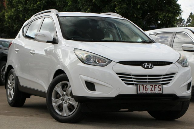 Used Hyundai ix35 LM3 MY15 Active Bundamba, 2015 Hyundai ix35 LM3 MY15 Active White 6 Speed Sports Automatic Wagon