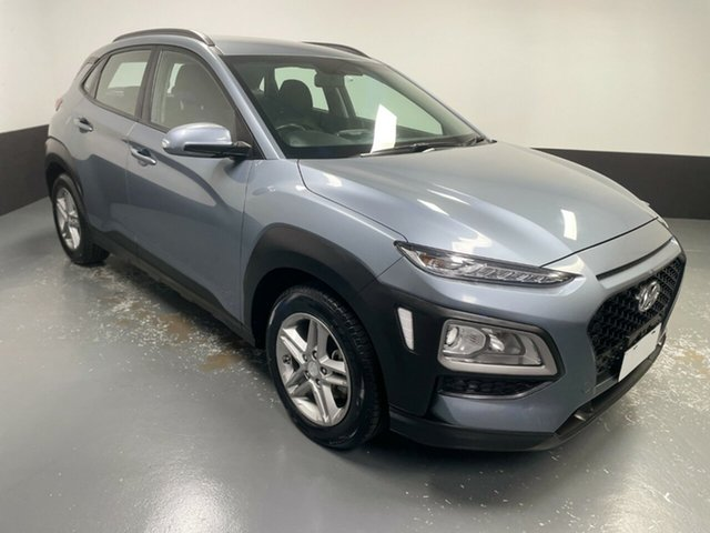 Used Hyundai Kona OS MY18 Active 2WD Hamilton, 2018 Hyundai Kona OS MY18 Active 2WD Silver 6 Speed Sports Automatic Wagon
