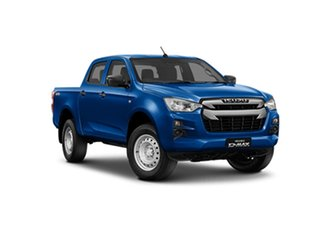 2021 Isuzu D-MAX RG MY21 SX Crew Cab 565 6 Speed Sports Automatic Utility