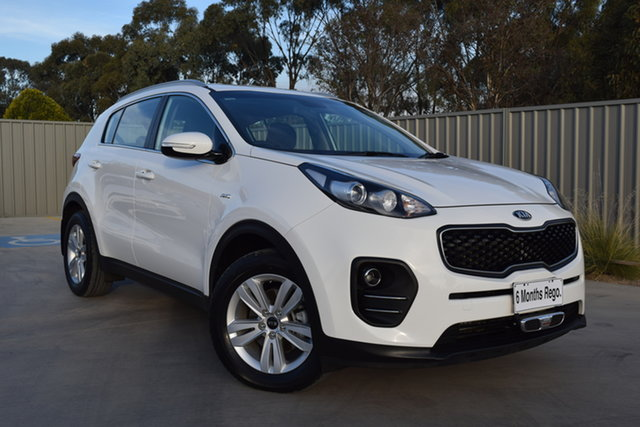 Used Kia Sportage QL MY17 Si AWD Echuca, 2016 Kia Sportage QL MY17 Si AWD White 6 Speed Sports Automatic Wagon
