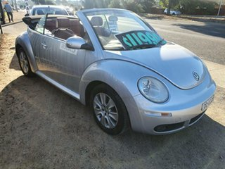 2011 Volkswagen Beetle 1Y MY2010 Silver 6 Speed Sports Automatic Cabriolet.