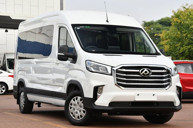 New LDV Deliver 9 MY21 Mid Roof LWB Victoria Park, 2020 LDV Deliver 9 MY21 Mid Roof LWB Blanc White 6 Speed Automatic Bus