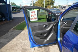 2016 Holden Trax TJ MY16 LS Active Pack Blue 5 Speed Manual Wagon