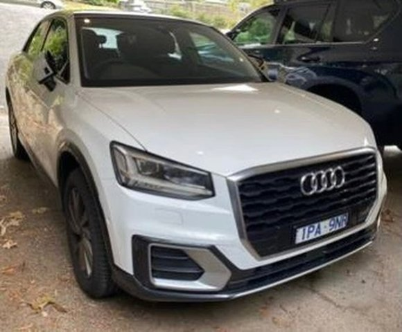 Used Audi Q2 GA MY20 35 TFSI S Tronic design South Melbourne, 2019 Audi Q2 GA MY20 35 TFSI S Tronic design White 7 Speed Sports Automatic Dual Clutch Wagon