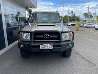 2008 Toyota Landcruiser VDJ79R Workmate 5 Speed Manual Cab Chassis