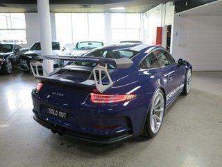 2016 Porsche 911 991 MY16 GT3 PDK RS Ultraviolet Blue 7 Speed Sports Automatic Dual Clutch Coupe