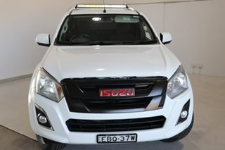 2018 Isuzu D-MAX MY18 SX Space Cab White 6 Speed Manual Cab Chassis