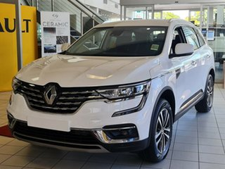2021 Renault Koleos HZG MY21 Zen X-tronic White 1 Speed Constant Variable Wagon.