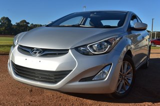 2014 Hyundai Elantra MD3 SE Silver 6 Speed Sports Automatic Sedan.