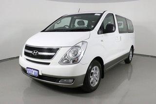 2014 Hyundai iMAX TQ MY13 White 4 Speed Automatic Wagon.