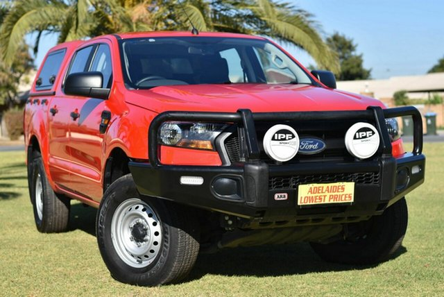 Used Ford Ranger PX MkII 2018.00MY XL Cheltenham, 2018 Ford Ranger PX MkII 2018.00MY XL Red 6 Speed Sports Automatic Utility