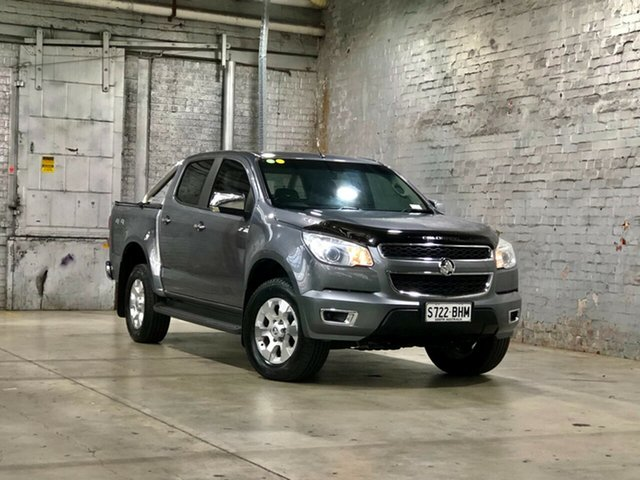 Used Holden Colorado RG MY15 LTZ Crew Cab Mile End South, 2015 Holden Colorado RG MY15 LTZ Crew Cab Grey 6 Speed Manual Utility