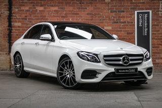 2020 Mercedes-Benz E-Class W213 800+050MY E300 9G-Tronic PLUS Polar White 9 Speed Sports Automatic.