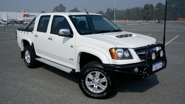 Used Holden Colorado RC MY09 LT-R Crew Cab Maddington, 2009 Holden Colorado RC MY09 LT-R Crew Cab White 4 Speed Automatic Utility