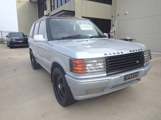 1998 Land Rover Range Rover SE Silver & Chrome 4 Speed Automatic Wagon.