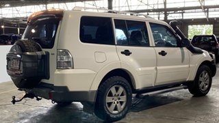2007 Mitsubishi Pajero NS GLX White 5 Speed Sports Automatic Wagon