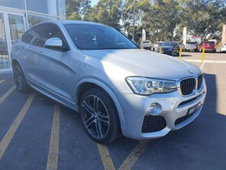2018 BMW X4 F26 xDrive20d Coupe Steptronic Silver 8 Speed Automatic Wagon.