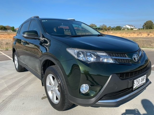 Used Toyota RAV4 ASA44R MY14 GXL AWD Victor Harbor, 2013 Toyota RAV4 ASA44R MY14 GXL AWD Green 6 Speed Sports Automatic Wagon