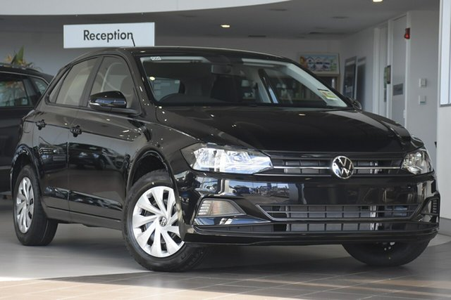 New Volkswagen Polo AW MY21 70TSI DSG Trendline Port Melbourne, 2021 Volkswagen Polo AW MY21 70TSI DSG Trendline Black 7 Speed Sports Automatic Dual Clutch