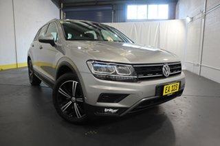 2017 Volkswagen Tiguan 5N MY18 132TSI DSG 4MOTION Adventure Silver 7 Speed.