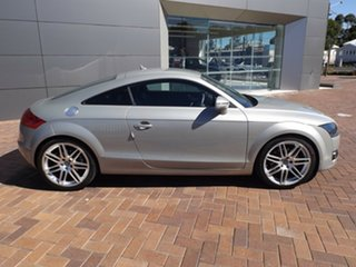 2009 Audi TT 8J MY09 S Tronic Silver 6 Speed Sports Automatic Dual Clutch Coupe.