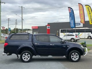 2011 Mitsubishi Triton MN GLX-R Blue 5 Speed Sports Automatic Utility