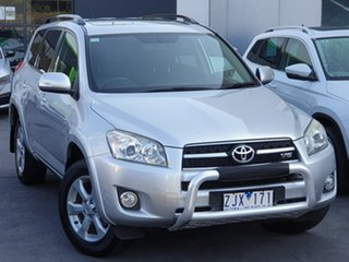 2011 Toyota RAV4 GSA33R MY11 ZR6 Silver 5 Speed Automatic Wagon.