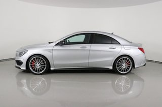 2016 Mercedes-AMG CLA45 117 MY16 4Matic Silver 7 Speed Automatic Coupe