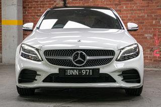 2021 Mercedes-Benz C-Class W205 801MY C300 9G-Tronic Polar White 9 Speed Sports Automatic Sedan.