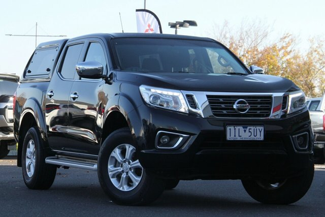 Used Nissan Navara D23 ST Essendon Fields, 2016 Nissan Navara D23 ST Black 7 Speed Sports Automatic Utility