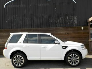 2013 Land Rover Freelander 2 LF MY14 SD4 CommandShift HSE White 6 Speed Sports Automatic Wagon.