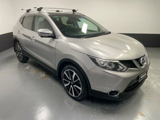 2014 Nissan Qashqai J11 TI Black 6 Speed Manual Wagon.