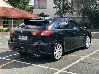 2014 Mitsubishi Lancer CJ MY15 GSR Sportback Black 6 Speed Constant Variable Hatchback.