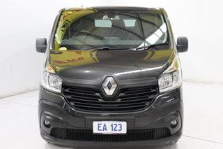 2017 Renault Trafic X82 103KW Low Roof LWB Black/Grey 6 Speed Manual Van.