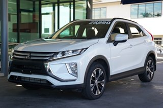 2019 Mitsubishi Eclipse Cross YA MY19 ES 2WD Starlight Black 8 Speed Constant Variable Wagon
