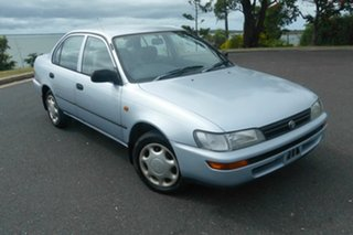 1996 Toyota Corolla AE102X Conquest Blue 4 Speed Automatic Sedan.