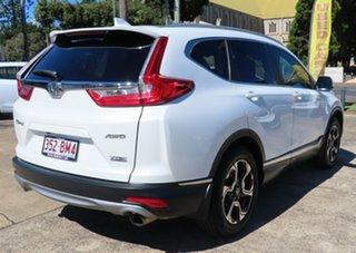 2018 Honda CR-V MY18 VTi-LX (AWD) White Continuous Variable Wagon.