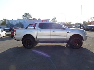 2017 Ford Ranger PX MkII XLT Double Cab Ingot Silver 6 Speed Automatic Utility