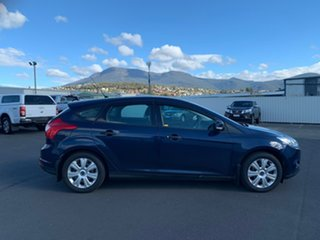 2011 Ford Focus LW Ambiente Blue 5 Speed Manual Hatchback.