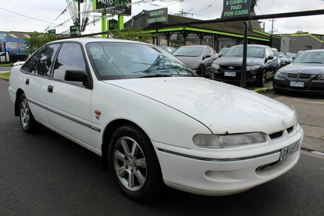 Used Holden Commodore VS Executive West Footscray, 1996 Holden Commodore VS Executive White 4 Speed Automatic Sedan