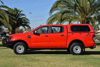 2018 Ford Ranger PX MkII 2018.00MY XL Red 6 Speed Sports Automatic Utility