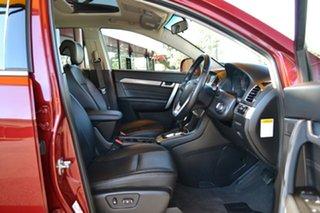 2017 Holden Captiva CG MY17 Active 2WD Burgundy 6 Speed Sports Automatic Wagon.
