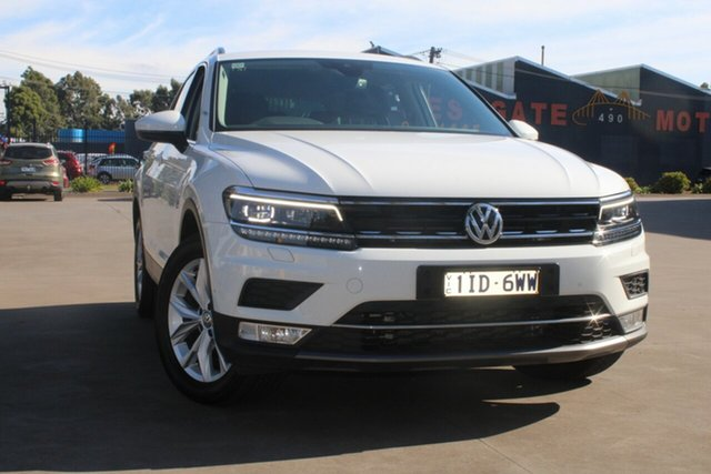 Used Volkswagen Tiguan 5NA 140 TDI Highline West Footscray, 2016 Volkswagen Tiguan 5NA 140 TDI Highline 7 Speed Auto Direct Shift Wagon