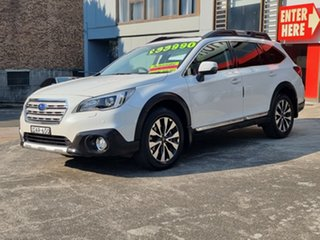 2015 Subaru Outback B6A MY15 3.6R CVT AWD White 6 Speed Constant Variable Wagon.