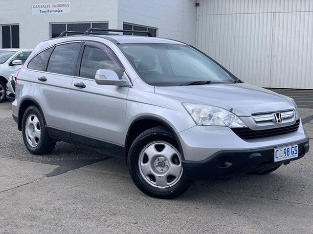Used Honda CR-V RE MY2007 4WD Moonah, 2009 Honda CR-V RE MY2007 4WD Silver 5 Speed Automatic Wagon