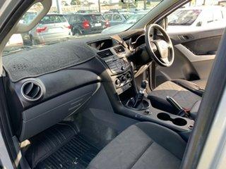 2013 Mazda BT-50 MY13 XT (4x4) Silver 6 Speed Manual Dual Cab Utility