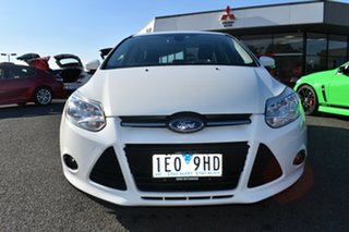 2014 Ford Focus LW MkII Trend PwrShift White 6 Speed Sports Automatic Dual Clutch Sedan