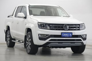 2019 Volkswagen Amarok 2H MY20 TDI580 4MOTION Perm Ultimate White 8 Speed Automatic Utility